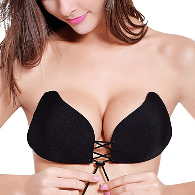 7fe7b1af288cb Bra Strapless Silicone Push Up Invisible Bra Self Adhesive Backless Bralette  Lift Plus Size Seamless Bras