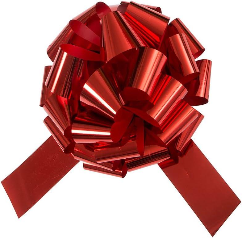 Unique Party - Arco De Coche Gigante Rojo - 45 cm - Rojo (63603)