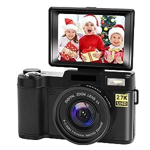 CeditaVlogging Camera