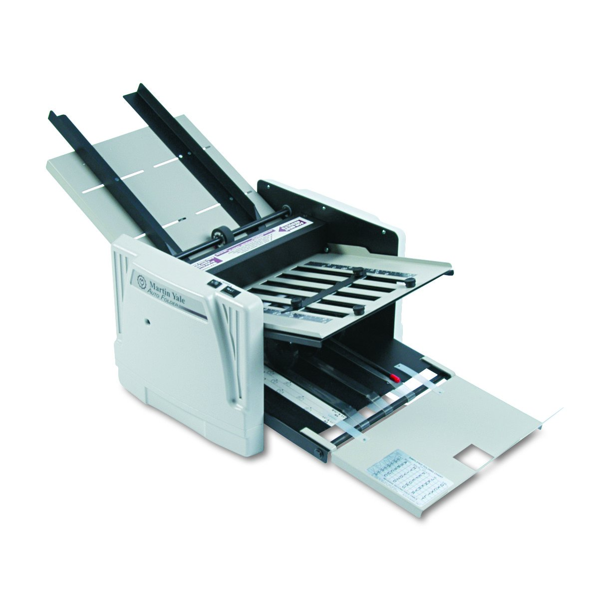 Amazon.com : Martin Yale Model 1217A Medium-Duty AutoFolder for 11 x 17  Inches Paper, Grey (PRE1217A) : Paper Folding Machines : Office Products
