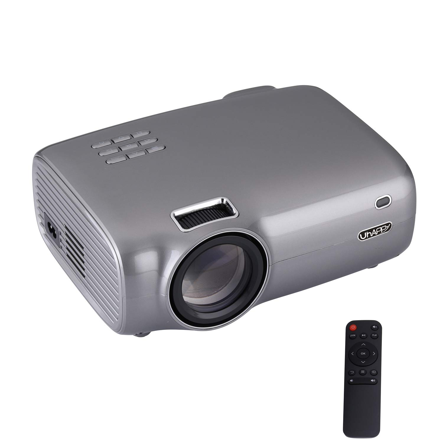 Amazon.com: Video Projector, Android 6.0 Smart Mini 720P LED ...