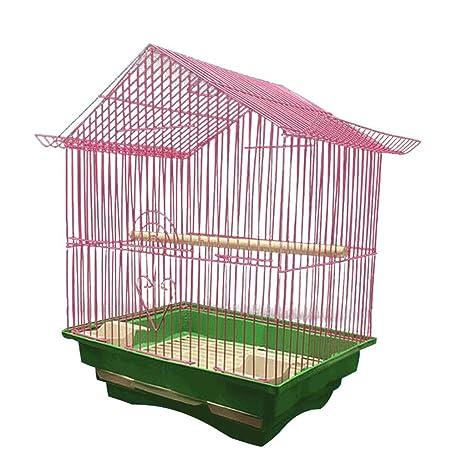 Zxb-shop Casa de Pájaro con Gancho para Jaula de pájaros 28 * 21 * 38