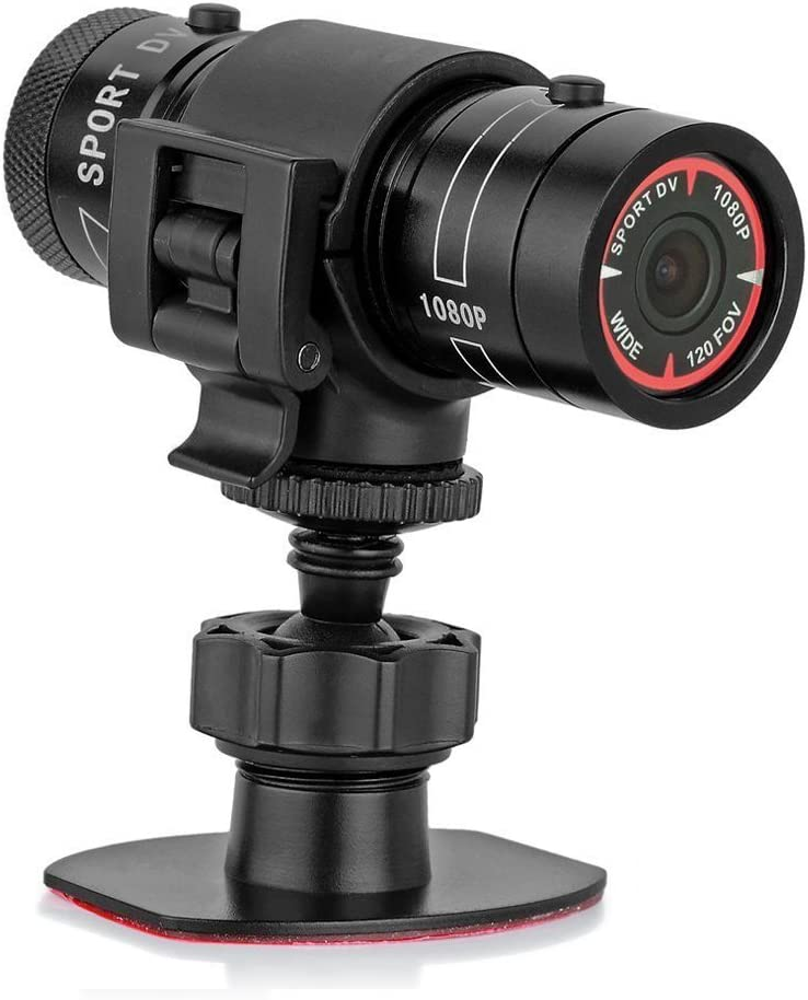 PowerLead Caue PC6 Mini Sports Camera 1080P Full HD Action Waterproof Sport Helmet Bike Helmet Video Camera DVR AVI Video Camcorder Support 32GB TF Card...