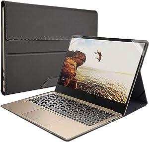 Honeymoon Case Cover For HP Spectre x360 15-EBxxx 15.6 Inch,PU Leather Case For HP Spectre x360 15-EB0053DX / 15-EB0043DX Series[Not fit Spectre x360 15-BLxxx/15-CHxxx/15-DFxxx/15-APxxx],S010-15-Black