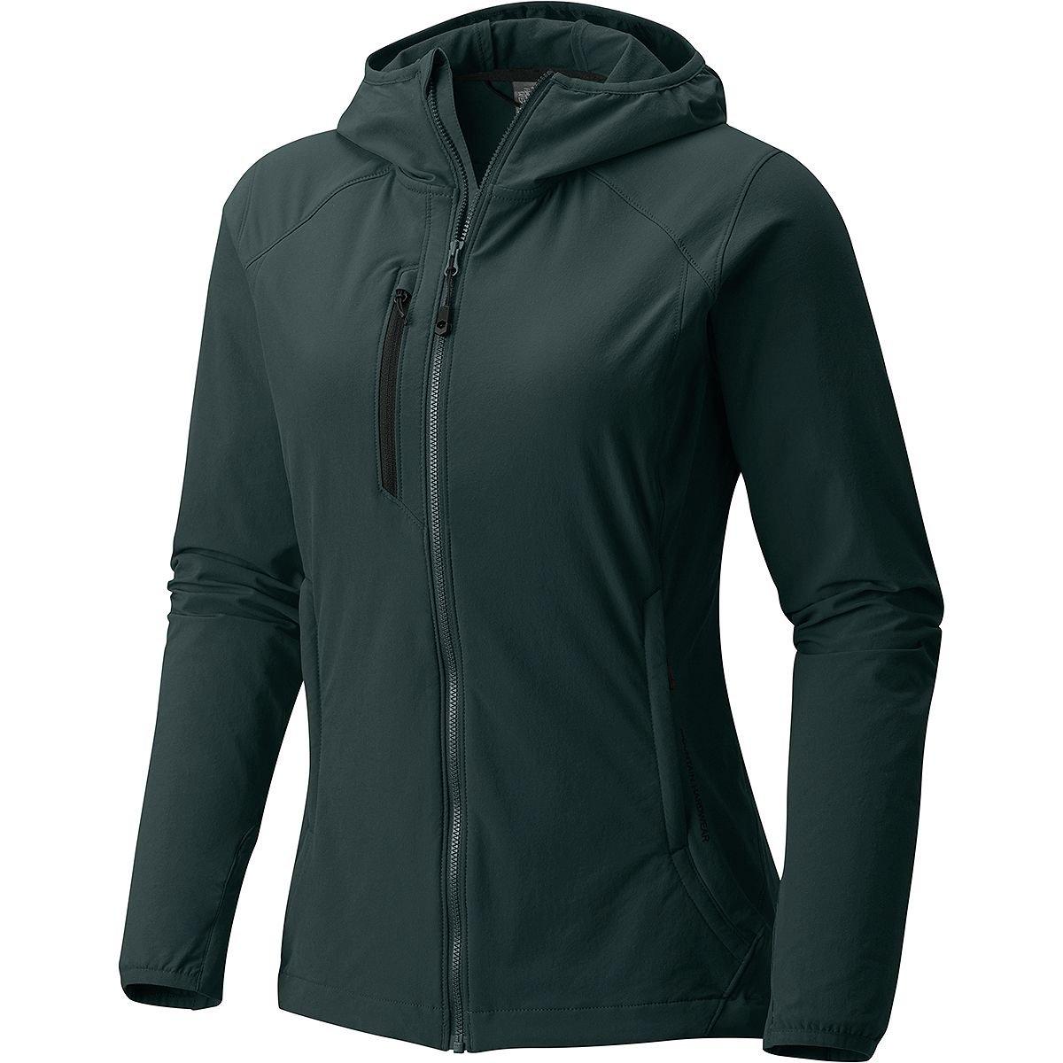 bluee Spruce Mountain Hardwear Women's Super Chockstone Hooded Jacket
