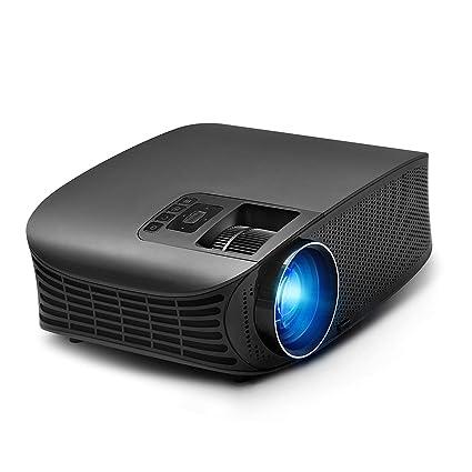Amazon.com: Mini proyector, pantalla Full HD 1080P y 180 ...