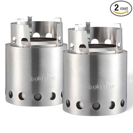 Amazon.com: Solo Stove (2 Estufa Bulk Pack) – Estufa de leña ...