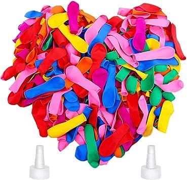 KAKOO 333er Wasserbomben Magische Wasserballons Schnell F/üllen in 1 Minuten selbstschlie/ßend 9 B/ündel Set je 37 Wasser Bomben Spielzeug 3 Farben