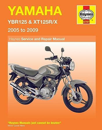 yamaha ybr 125 xt 125 repair manual haynes service manual workshop rh amazon co uk Yamaha Schematics Yamaha Schematics