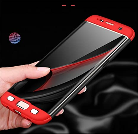 Amazon.com: Thinnest Protective Galaxy S6 3 in 1 Case,Best ...