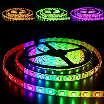 Amazon solarphy 328ft 10m rgb led strip light bluetooth solarphy 328ft 10m rgb led strip light bluetooth smartphone app controlled 5050 led mozeypictures Images
