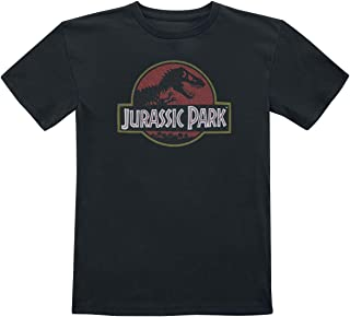 Jurassic Park Logo T-Shirt Black