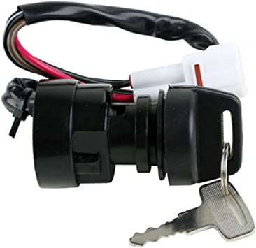 New Ignition Key Switch For Yamaha WARRIOR 350 YFM350 1996-2001 97 98 99 00 ATV