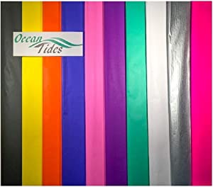 Tissue Paper Gift Wrap Bulk Wrapping 100 200 300 or 500 Sheets 15 x 20 Assorted Black Blue Fuchsia Gold Green Orange Pink Purple Silver White Yellow