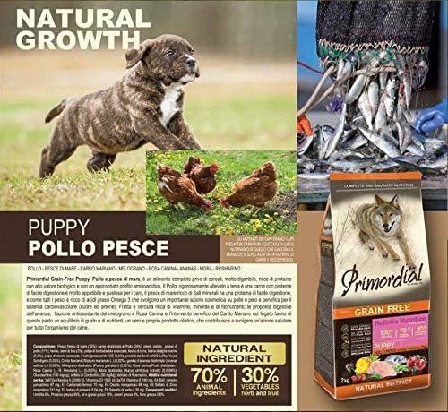 Pienso Primordial Holistic Grain-Free Puppy Chicken & Sea Fish 2kg