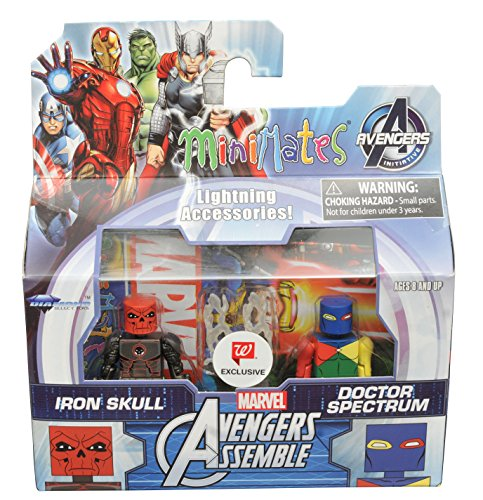 (Minimates IRON SKULL & DOCTOR SPECTRUM Walgreens Exclusive Avengers Assemble 2-pack)