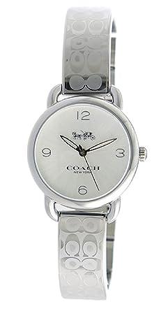 196850325ea1 [コーチ] COACH 腕時計 デランシー クオーツ 14502891 シルバー レディース [並行輸入品]
