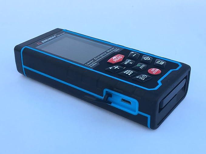 Laser Entfernungsmesser Kalibrieren : Sndway® 120 m 400 ft handheld laser distance measuring meter mit