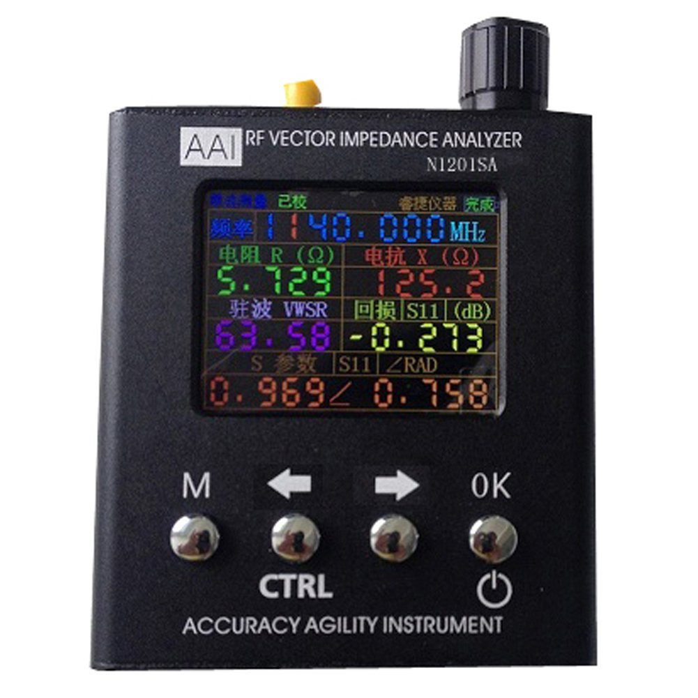 N1201SA UV RF Vector Impedance ANT SWR Antenna Analyzer Meter Tester 140MHz - 2.7GHz(English Version)