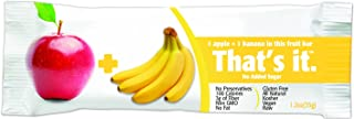 product image for That's It Apple & Banana Snack Bar, Gluten Free/Fat Free 1.2 oz, Pack of 144