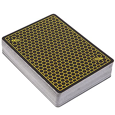 Ellusionist Killer Bees Reloads Playing Card Deck - Boxless, No Tuck Deck: Sports & Outdoors