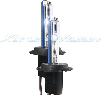 Smart Fortwo 55w Clear Xenon HID Low Dip Beam Headlight Headlamp Bulbs Pair