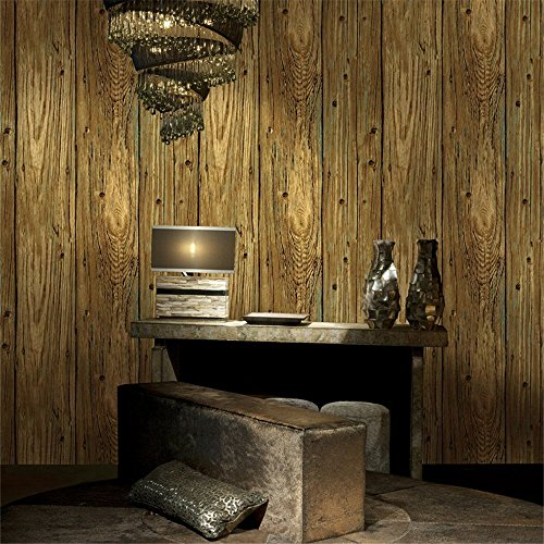 All smilles faux wood panel wallpaper plank textured vinyl for 3d wood wallpaper
