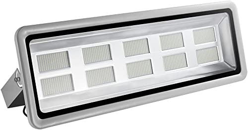 1000W LED Flood Lights, 100000LM Super Bright Work Lights, Cold White 6000-6500K, Outdoor and Indoor IP65 Waterproof Wall Lights Security Light for Garage, Garden, Lawn, Yard by Coolkun