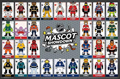 (Trends International NHL - Mascots Wall Poster 22.375