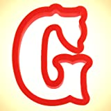 Curly Letter G Cookie Cutter 4 in