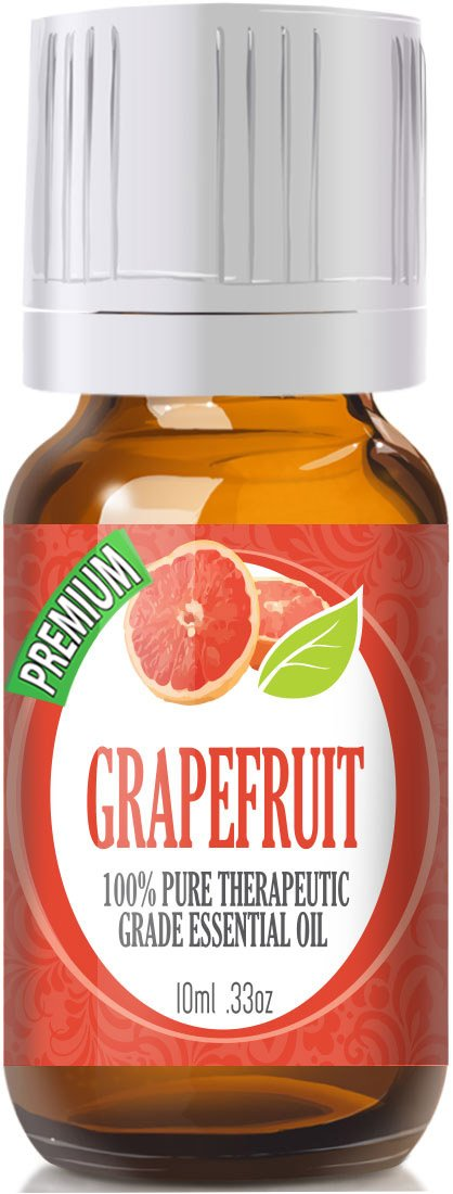 Grapefruit - 100% Pure, Best Therapeutic Grade Essential Oil - 10ml