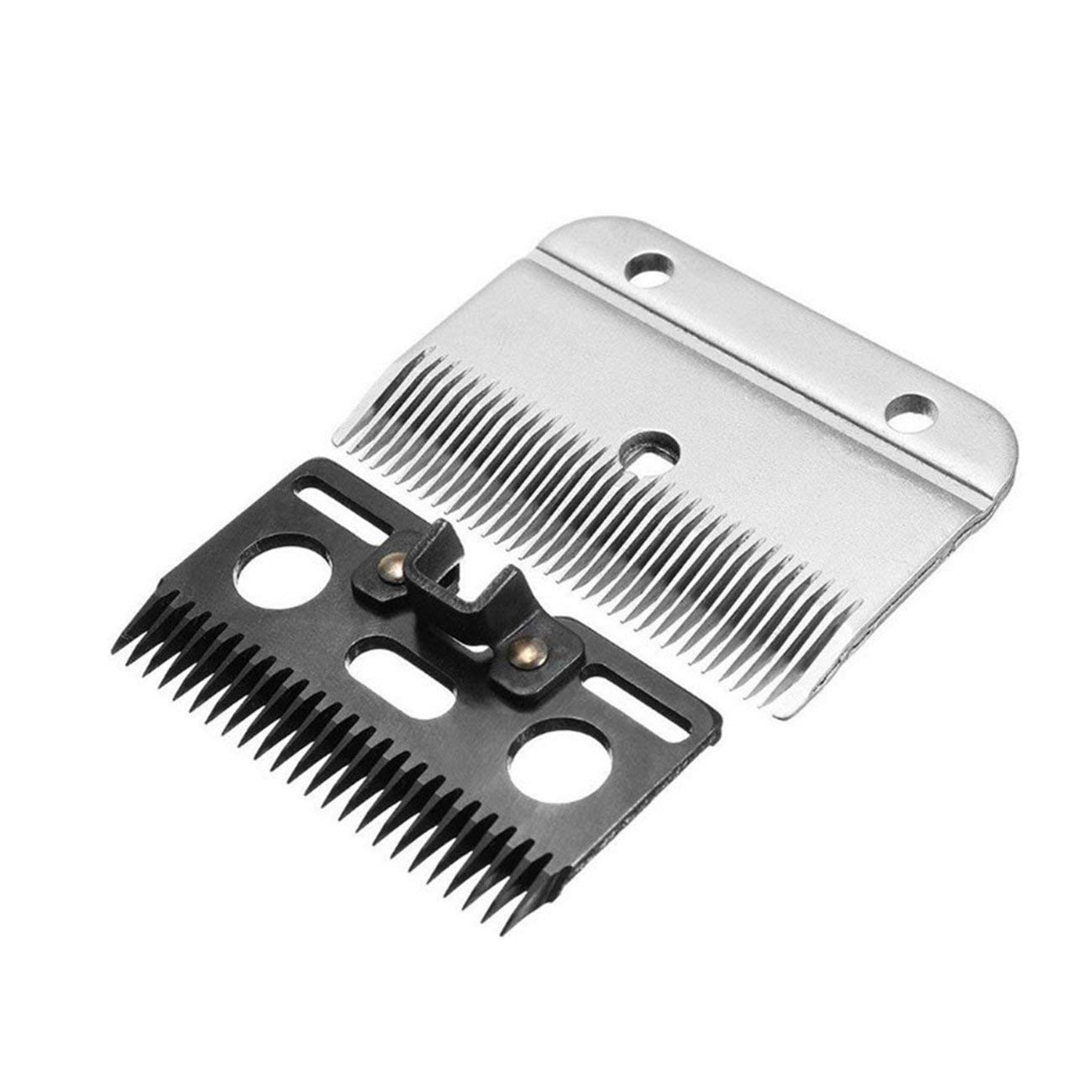 Ashley GAO Cuchillas de corte de caballo eléctrico para cortar peines, cuchillas de repuesto para dientes de 24 T+ 35 T