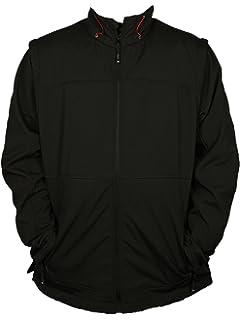 b4d6926b79759 Kam Mens Big King Size Jacket KV-20 Casual WEAR in Black Colours Detachable  ARMS