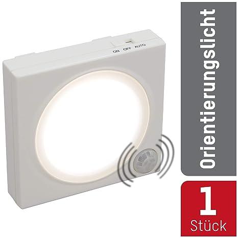 Ansmann LED-Guide Free Motion - Luz de orientación LED (sensor crepuscular, sensor