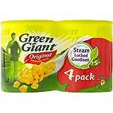 Green Giant Niblets Original Sweetcorn (4x198g) 緑の巨人は、元のスイートコーン( 4X198G )をniblets