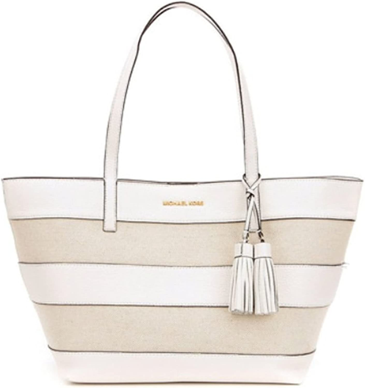 Michael Michael Kors Striped Large East West Tote Clothing