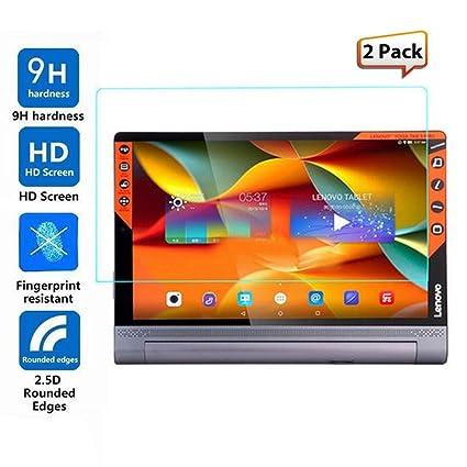 Amazon.com: Luffytops Lenovo Yoga Tab 3 Pro Screen Protector ...