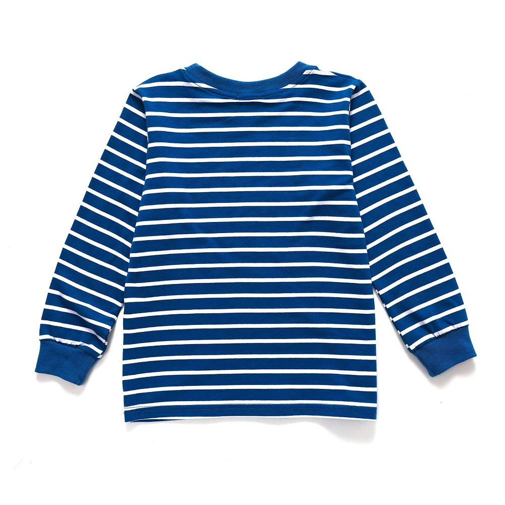 TM Little Boys Pullover Cotton Cute Crew Neck Long Sleeve Sweatshirt YuCheng