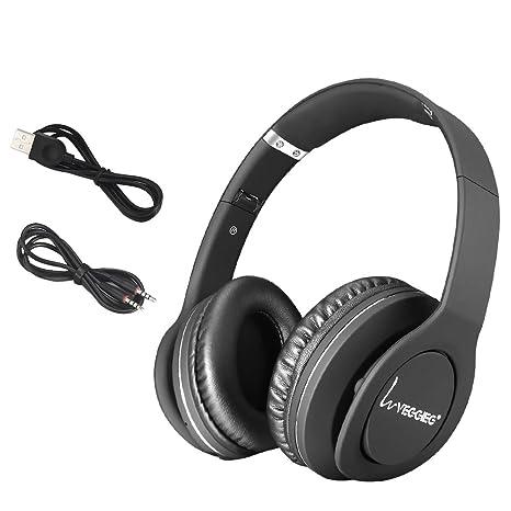 VEGGIEG V8800 N Auriculares estéreo plegable auriculares inalámbrico Bluetooth V4.0 + EDR Headset Headphone