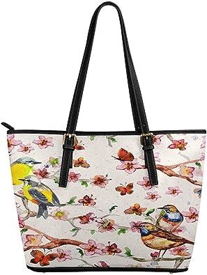 Custom flowers Fashion Shoulder Bag PU leather Womens Handbags