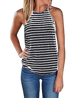 fc1e215b1753b Sherosa Women s Casual Spaghetti Strap Floral Print Tank Tops Camis Shirt