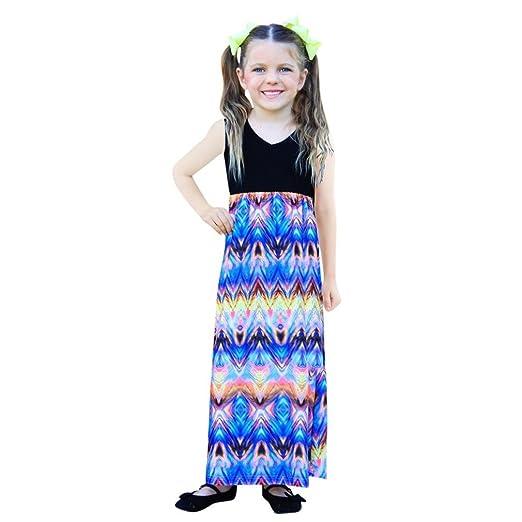 Amazon.com  Sunward Mommy and Me Maxi Dresses 291b5b3718