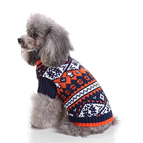 Limin Pet Sweater, Thickening Knitted Pet Ropa para Perros Pequeños Warm Vest Chest Protector Turtleneck