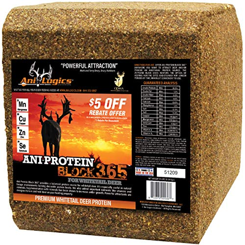 - Ani-Logics Outdoors ANI-Protein Block 365-25lb
