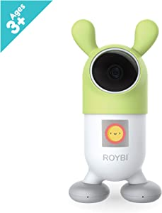 ROYBI Robot Smart Educational Learning Toy Robot & Tutor for Kids, STEM Robot Toy, Language Skills and Conversational Toy, for Toddlers, Best for Kids 3-7 Years Old, Preschool Toy for Girls & Boys