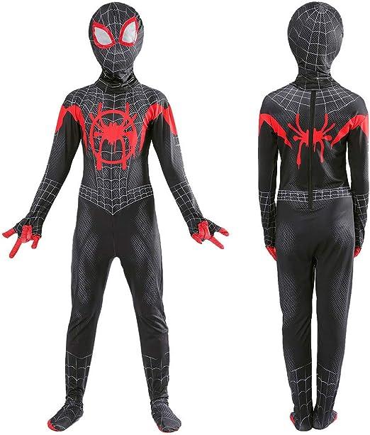Spider-Man: Into The Spider-Verse Disfraz De Spiderman Disfraz De ...