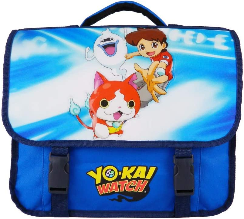 Cartable 38cm Yokai Watch Bleu: Amazon.es: Equipaje
