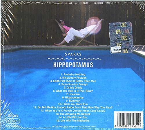 SPARKS Hippopotamus Amazoncom Music - Hippopotamus pool table