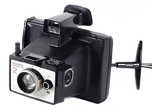 Review Nice Vintage Polaroid Square Shooter 2 Land Camera Instant Film Camera