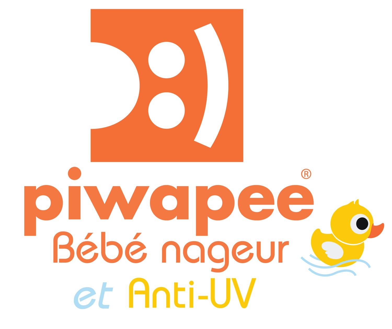Piwapee 3-6 M Bleu Castor Top Lycra Anti UV UPF50